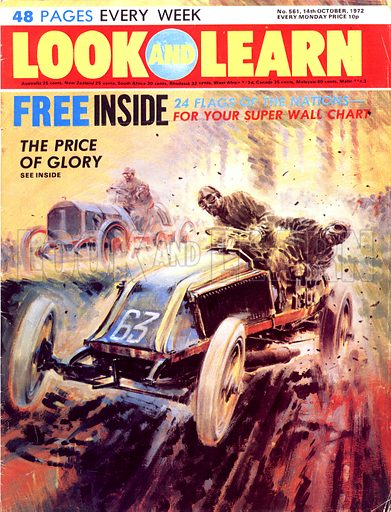 Tales of the Track: The Price of Glory. The Paris to Madrid race of 1903 became a bloodbath with less than half the cars which started the race reaching Bordeaux where the race was stopped.