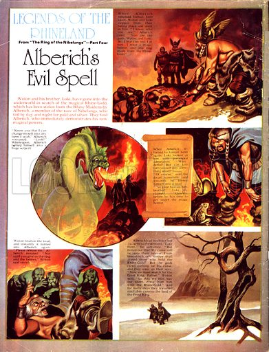 Legends of the Rhineland: Alberich's Evil Spell. Woton and his brother Loki search the underworld for the magic Rhine-Gold.