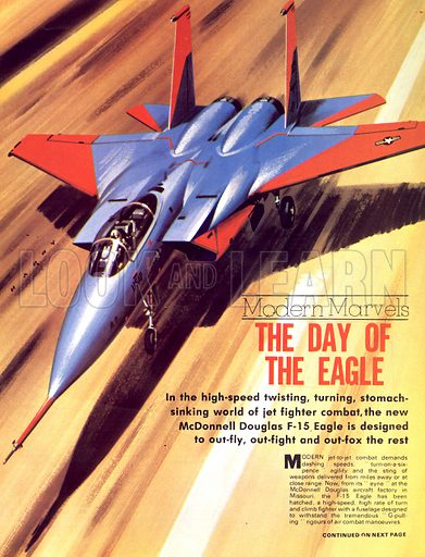 Modern Marvels: The Day of the Eagle. The McDonnell Douglas F-15 Eagle.