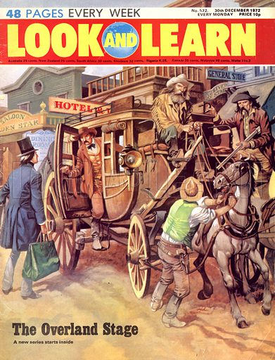 The Overland Stage. Samuel Clemens (Mark Twain) took a rough and exciting journey on the overland stage to the American far west in 1861.