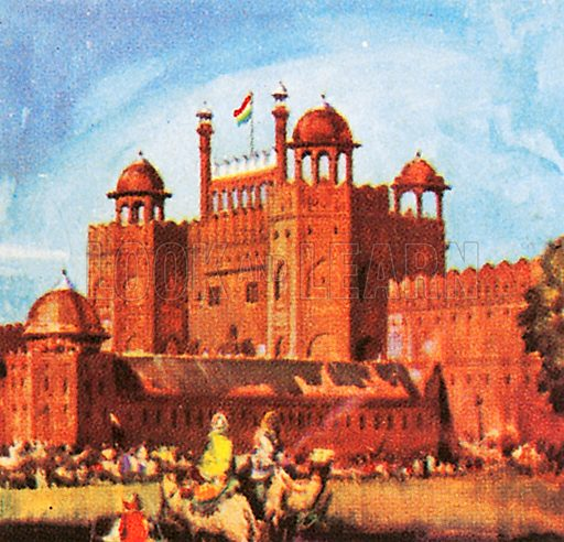 This famous fort was built by Shah Jahan in 1639-1648 as an Imperial Palace. The Red Fort is made of red sandstone.