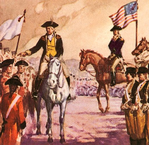 George Washington, He became the first US president. George Washington forced the surrender of the Marquis Cornwallis at Yorktown in 1781.