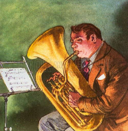 The Euphonium is a tenor tuba, the highest pitched of the tuba family of brass instruments.