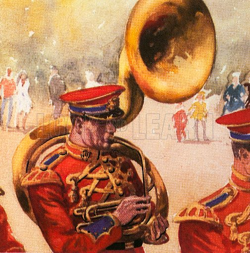 Sousaphone, this brass instrument was invented by Sousa, the American composer.