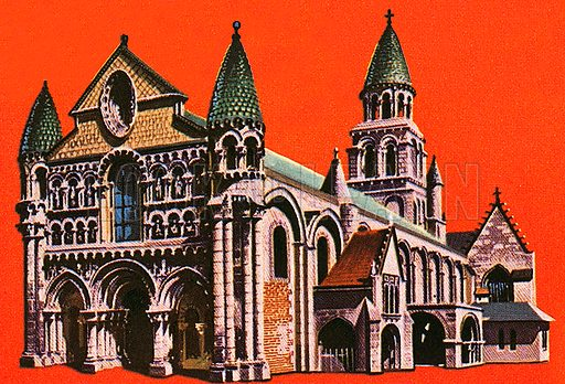 When the Normans conquered England in 1066, they brought architects with them and a style of architecture called Romanesque which was little known in England.