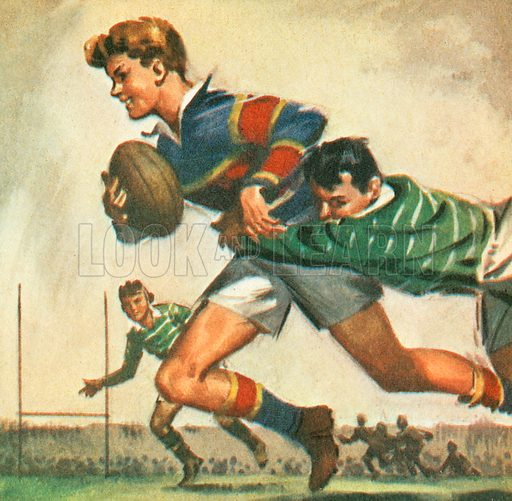 Rugby, this sport is named after the English public school where it was first played. There are two versions of Rugby: Rugby Union, with 15 players on a team, and Rugby League, with 13 players.