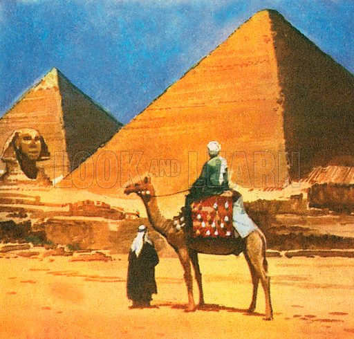 Only one of the Seven Wonders of the Ancient World still exists - the Pyramid of Cheops. The Pyramid of Cheops was built in 2580 BC. It is believed to have been built for the Pharoah Khufu and his queen. Cheops was the name the Greeks gave to Khufu.
