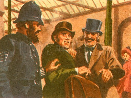 In July 1910, police used radio to arrest Dr. Crippen, a murderer who was trying to excape to America. He was on board a ship in the Atlantic.