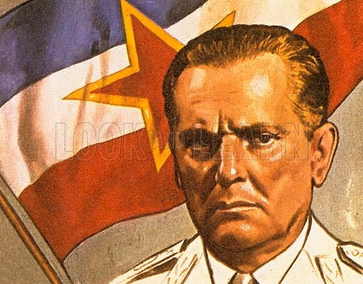 """This man's real name was Josip Broz and he called himself """"Tito."""" He led a liberation movement in the Balkans during World War II and until his death in 1980 was leader of Yugoslavia that today no longer exists. The Socialist Federal Republic of Yugoslavia disintegrated in a series of wars between 1991 and 2001. It consisted of Bosnia and Herzogovina, Croatia, Macedonia, Montenegro, Serbia, and Slovenia."""
