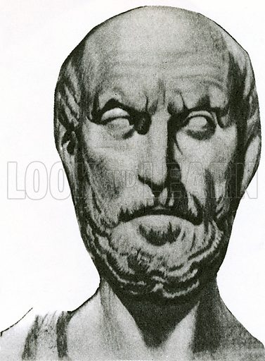In the 5th century BC, Hippocrates, a famous Greek physician who is known as the Father of Medicine, bravely pronounced that diseases were natural events. This brilliant man had great courage because people at the time believed illness was a punishment from the gods or a form of primitive magic.