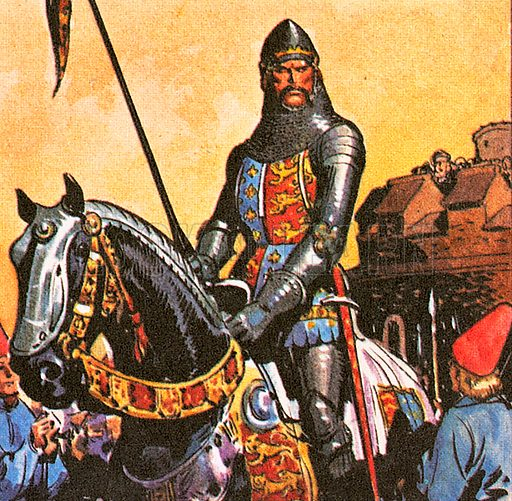 """Edward, the Black Prince (1330–1376) was the son of Edward III and father of Richard II. In his lifetime, he was called Edward of Woodstock. But he himself never reigned because he died one year before his father. Oddly, the name """"Black Prince"""" was not used until 200 years after his death."""