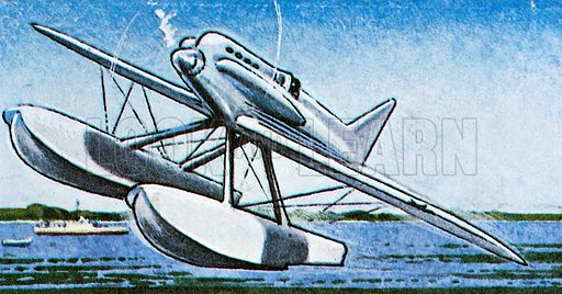 A floatplane has two pontoons under the fuselage on which it lands on water. A flying boat floats on the fuselage itself.