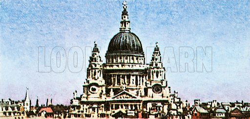 "Sir Christopher Wren is buried in St. Paul's Cathedral. His monument says, in Latin, ""if you seek his monument, look around you.""."