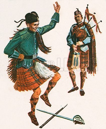 The Highland Fling is a traditional Highland dance that shows off the steps of an individual dancer.