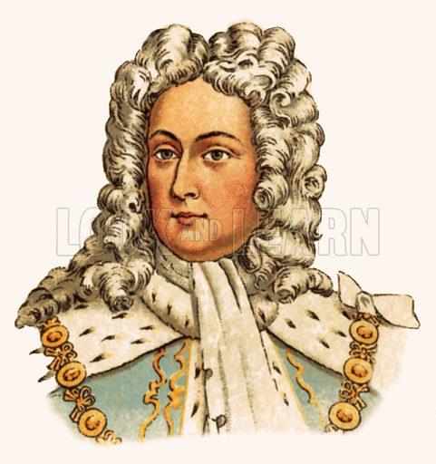 King George II(1727–1760).