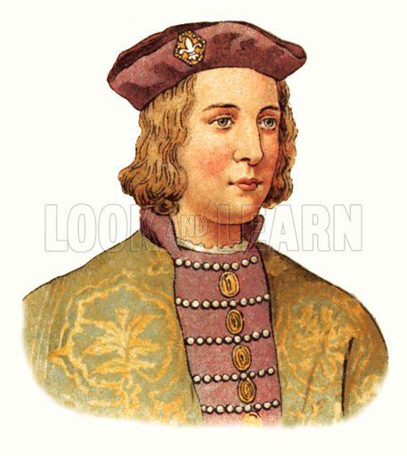 King Edward IV(1461–1483).