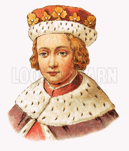 King Edward V(Reigned 1483).