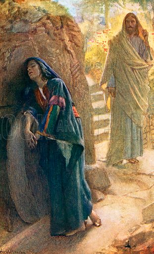 Mary Magdalene. Illustration in 'The Women of the Bible' (c 1920).