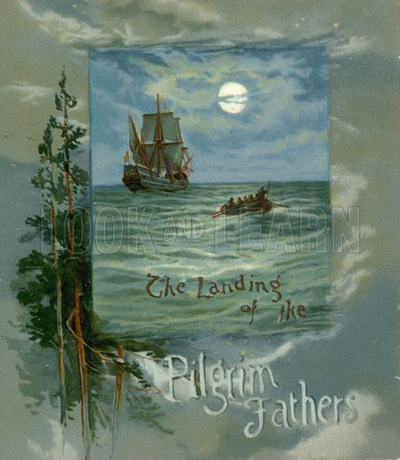 The Landing of the Pilgrim Fathers – Book cover