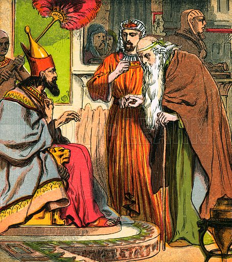 History of Joseph. The Child's Coloured Scripture Book published by George Routledge & Sons, c 1890. Printed in colours by Kronheim & Co Professionally re-touched illustration.