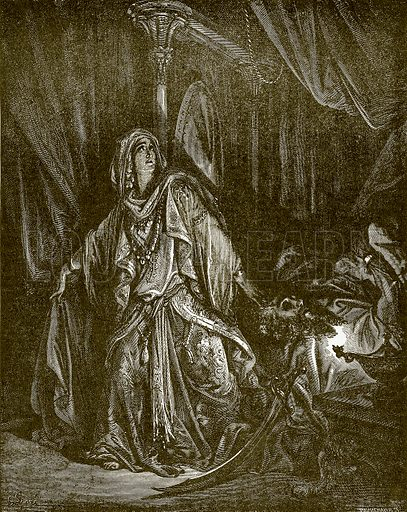 Judith and Holofernes. Young people's Bible history (c 1900).