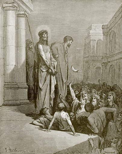 Christ presented to the people. Young people's Bible history (c 1900).