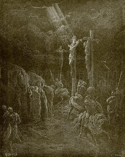 The death of Christ. Young people's Bible history (c 1900).