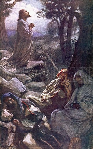 Gethsemane. Scenes in the Life of our Lord (Religious Tract Society, 1907).
