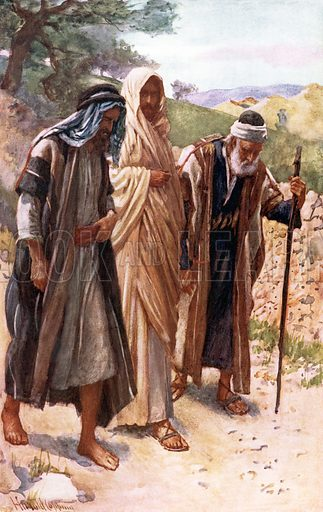 The walk to Emmaus. Scenes in the Life of our Lord (Religious Tract Society, 1907).