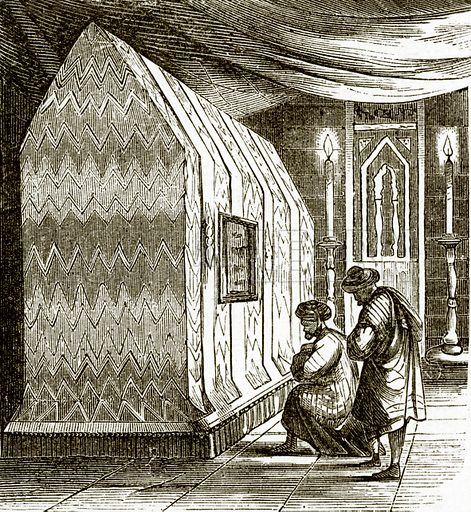 The tomb of David. All Round the World, First Series (1868).