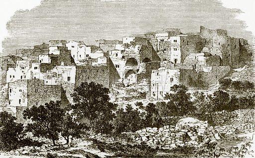 Nazareth. All Round the World, First Series (1868).