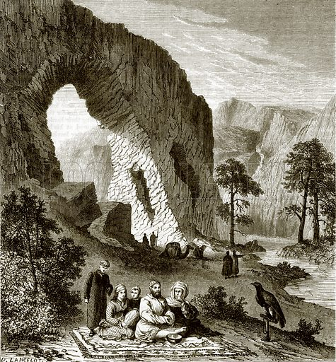 A Khalkas family on the upper Amoor. All Round the World, First Series (1868).