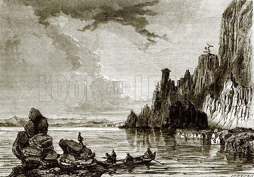 Lake Baikal. All Round the World, First Series (1868).
