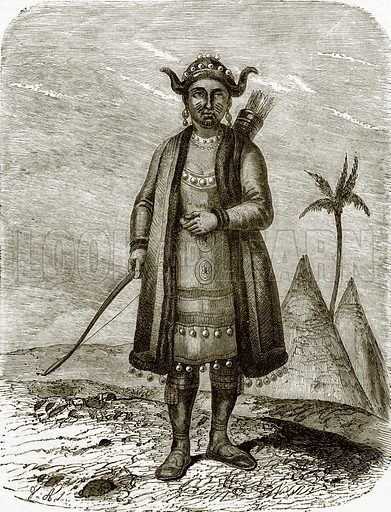 Yakut woman. All Round the World, First Series (1868).