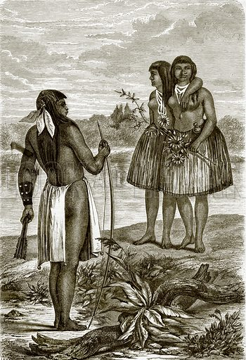 Indians of the Rio Colorado. All Round the World, First Series (1868).