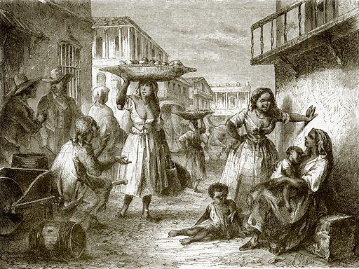 Inhabitants of Havana. All Round the World, First Series (1868).