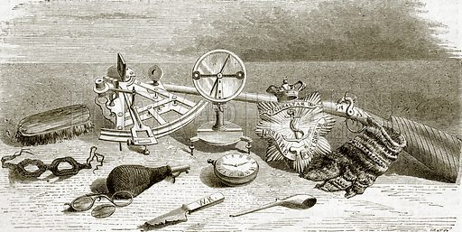 Relics of Franklin's expedition. All Round the World, First Series (1868).