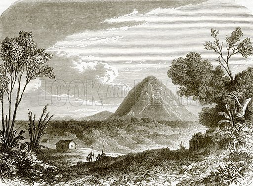 Charles island. All Round the World, First Series (1868).