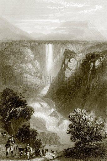 Terni. Payne's Universum (1847).