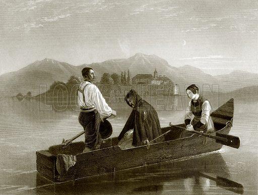 Ave Maria. Payne's Universum (1847).