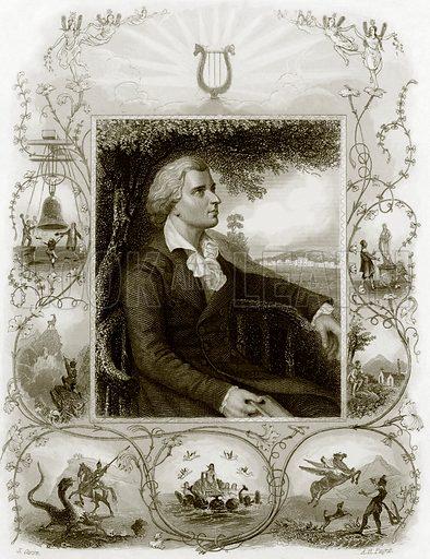 Schiller. Payne's Universum (1847).