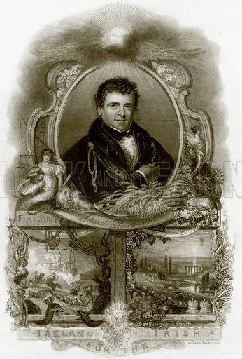 Daniel O' Connell. Payne's Universum (1847).