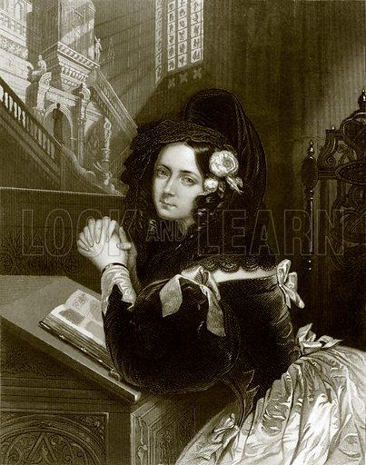 Rosina. Payne's Universum (1847).