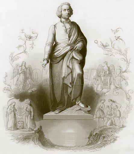 Mozart. Payne's Universum (1847).