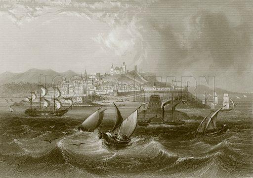 Tangier. Payne's Universum (1847).