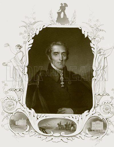 Duke of Wellington. Payne's Universum (1847).