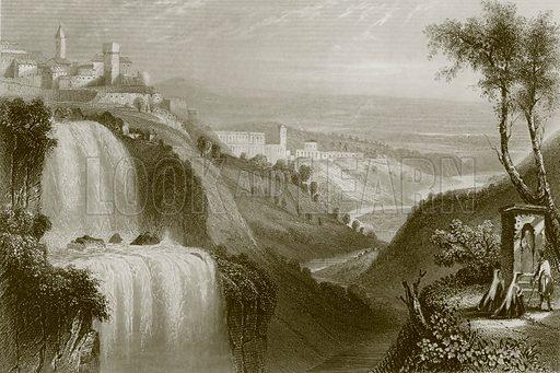 Tivoli. Payne's Universum (1847).