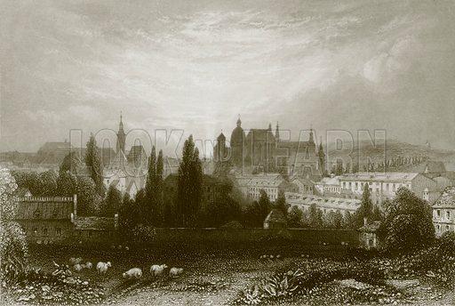 Aix-La-Chapelle. Payne's University (1847).