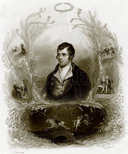 Robert Burns. Payne's Universum (1847).