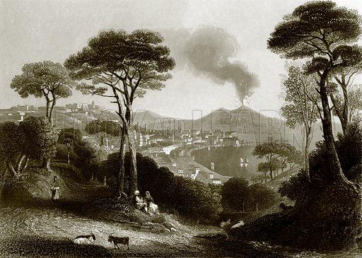 Naples. Payne's Universum (1847).